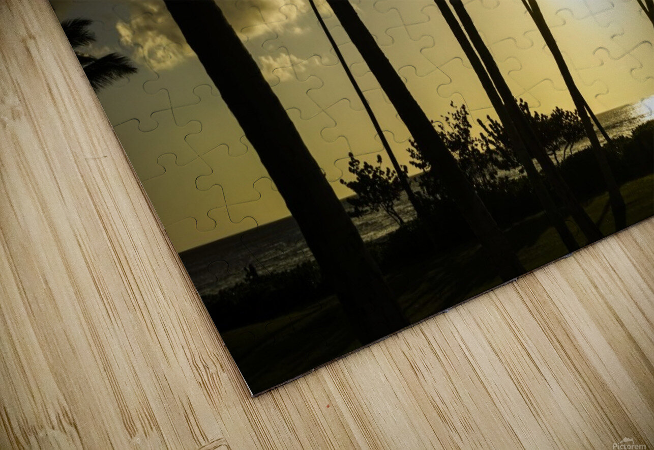 Clear Day HD Sublimation Metal print