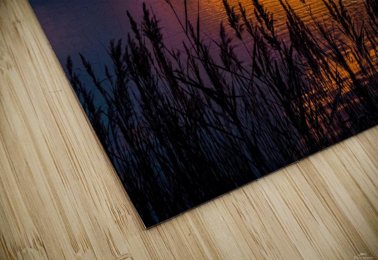 Coucher Soleil Scamandre HD Sublimation Metal print
