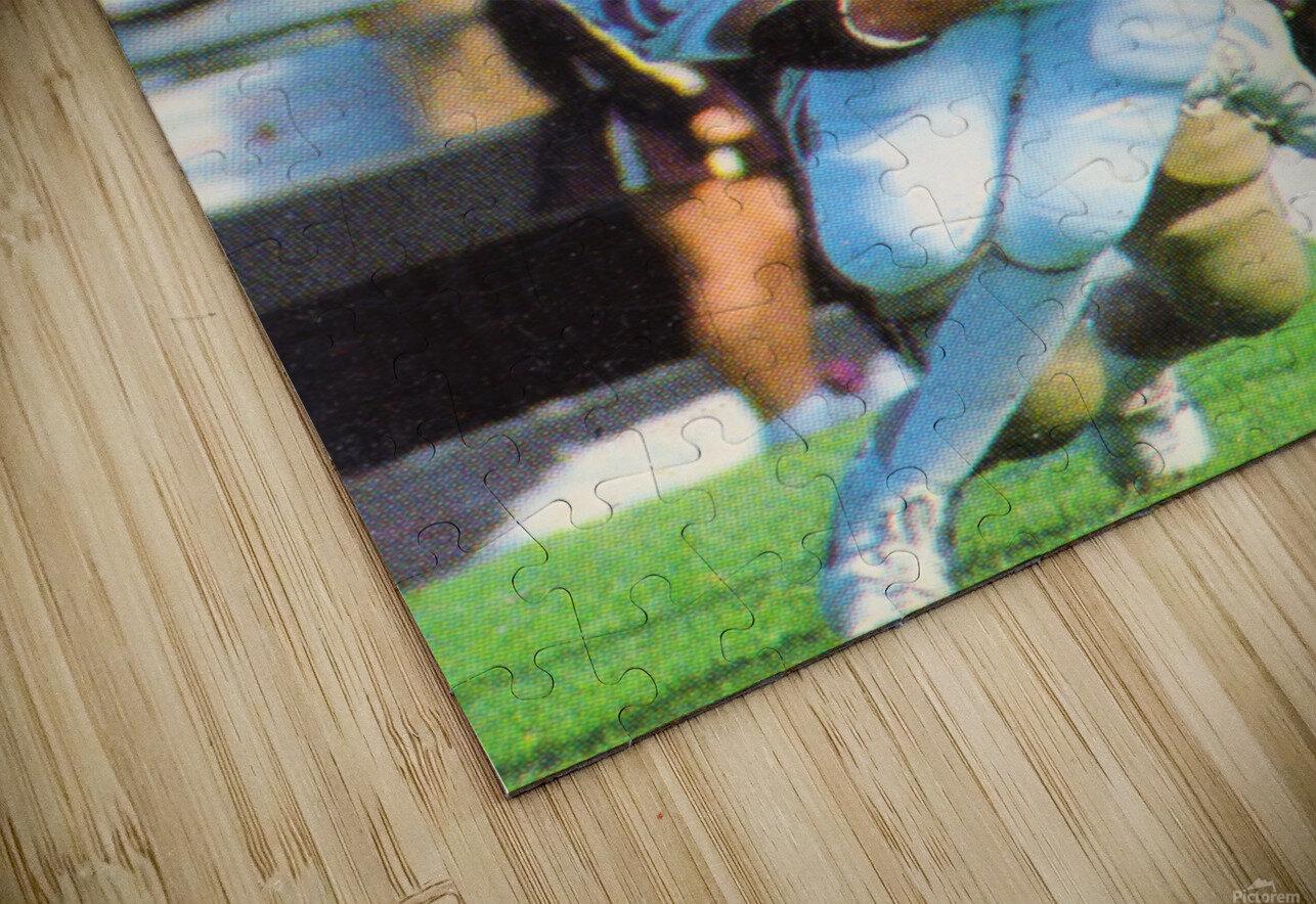 1987 Dartmouth Big Green Football Poster HD Sublimation Metal print