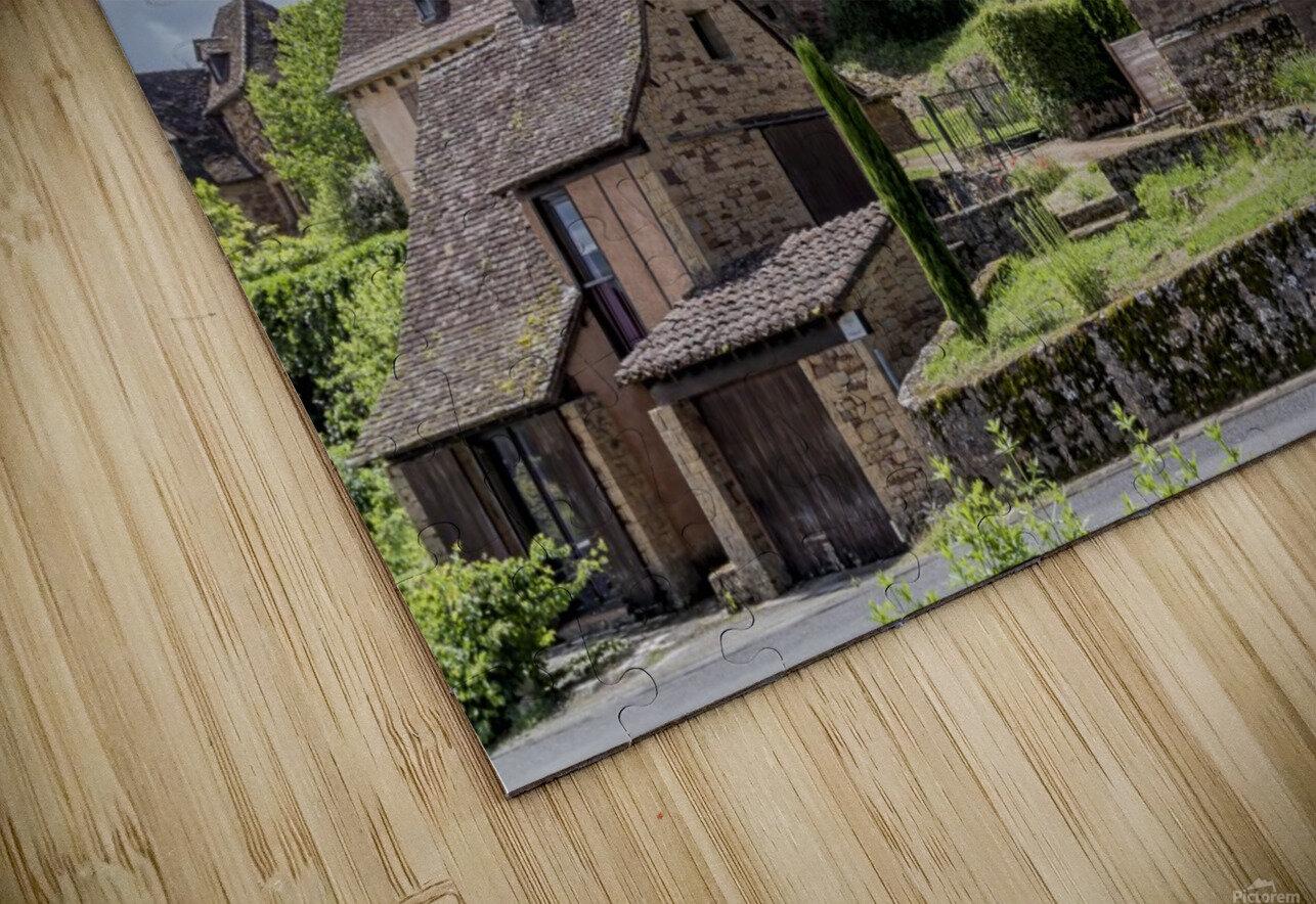 Castelnau Bretenoux HD Sublimation Metal print