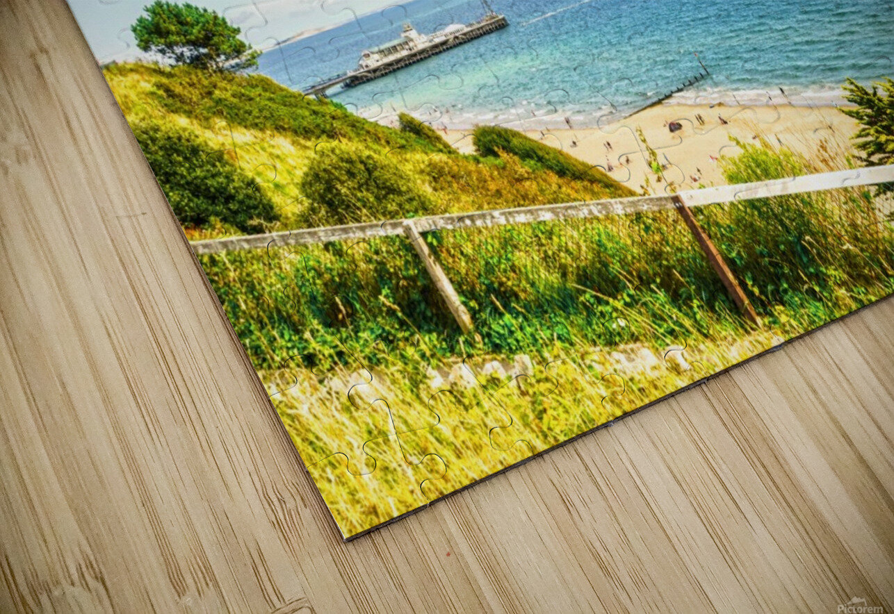 The Southern Coast of England HD Sublimation Metal print