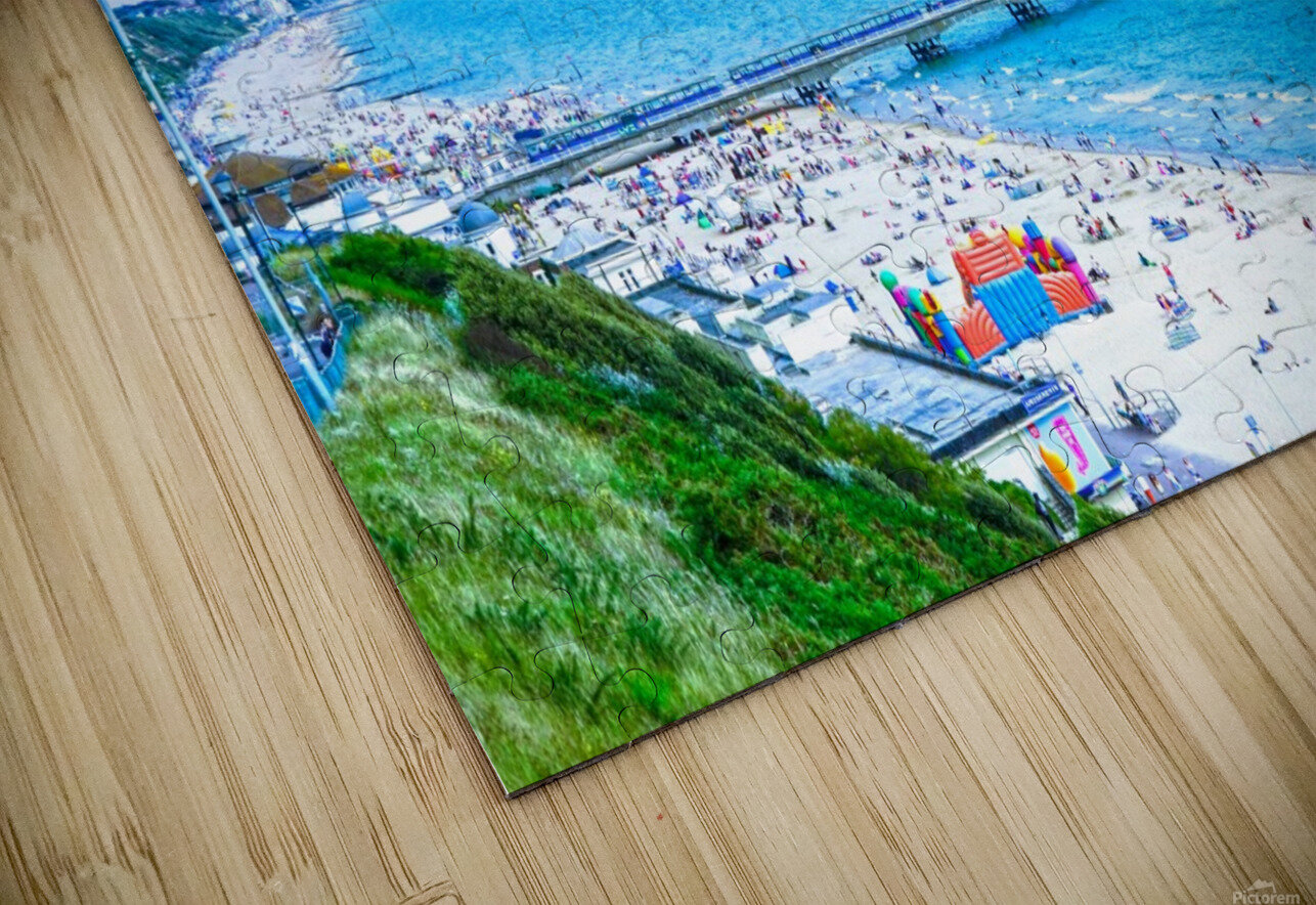 Snaphot in Time Bournemouth HD Sublimation Metal print