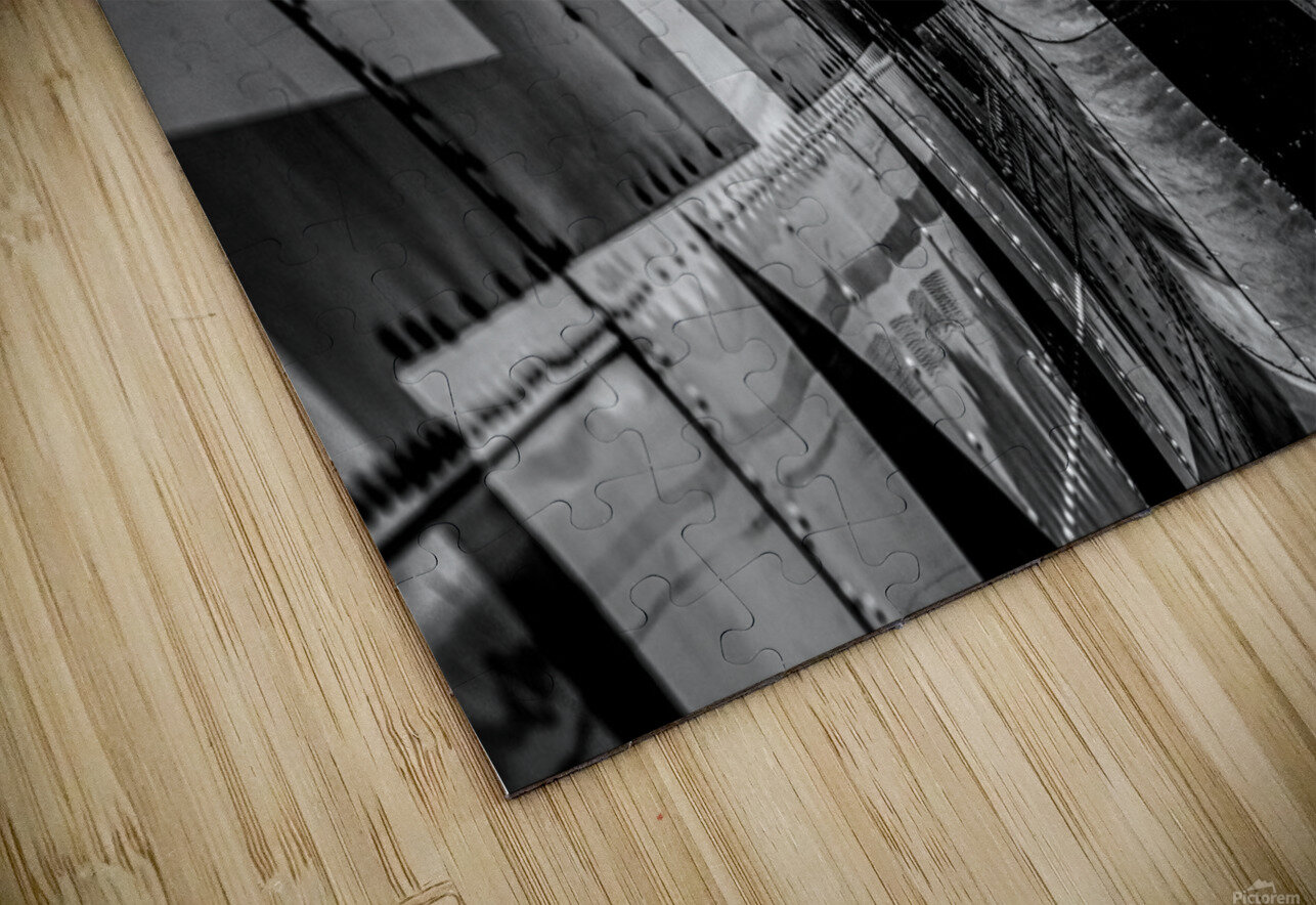 Over The Wing HD Sublimation Metal print