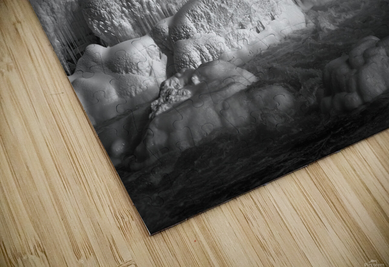 Ice Wall HD Sublimation Metal print