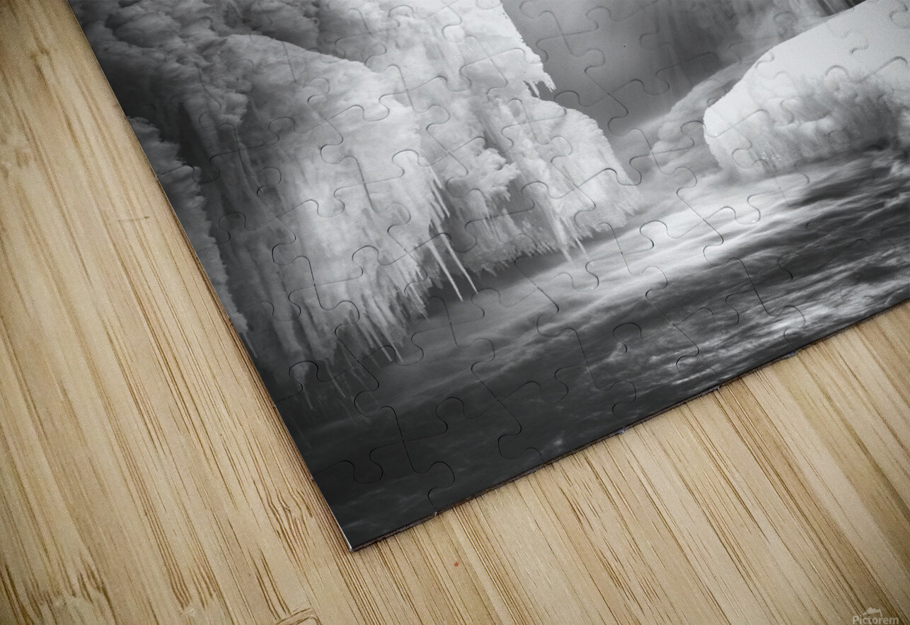 Inside The Falls HD Sublimation Metal print