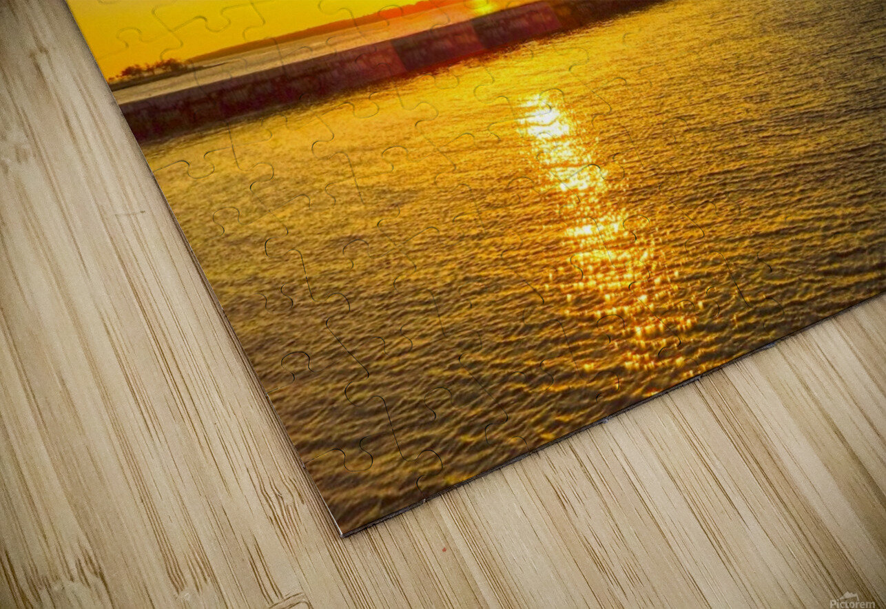 Low Country Sunset South Carolina HD Sublimation Metal print