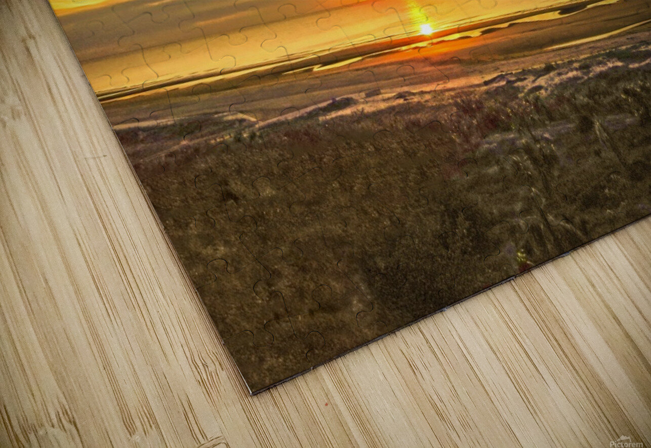 Sunrise in the Carolinas HD Sublimation Metal print