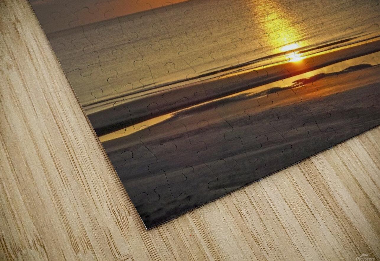 Carolina Sunrise HD Sublimation Metal print