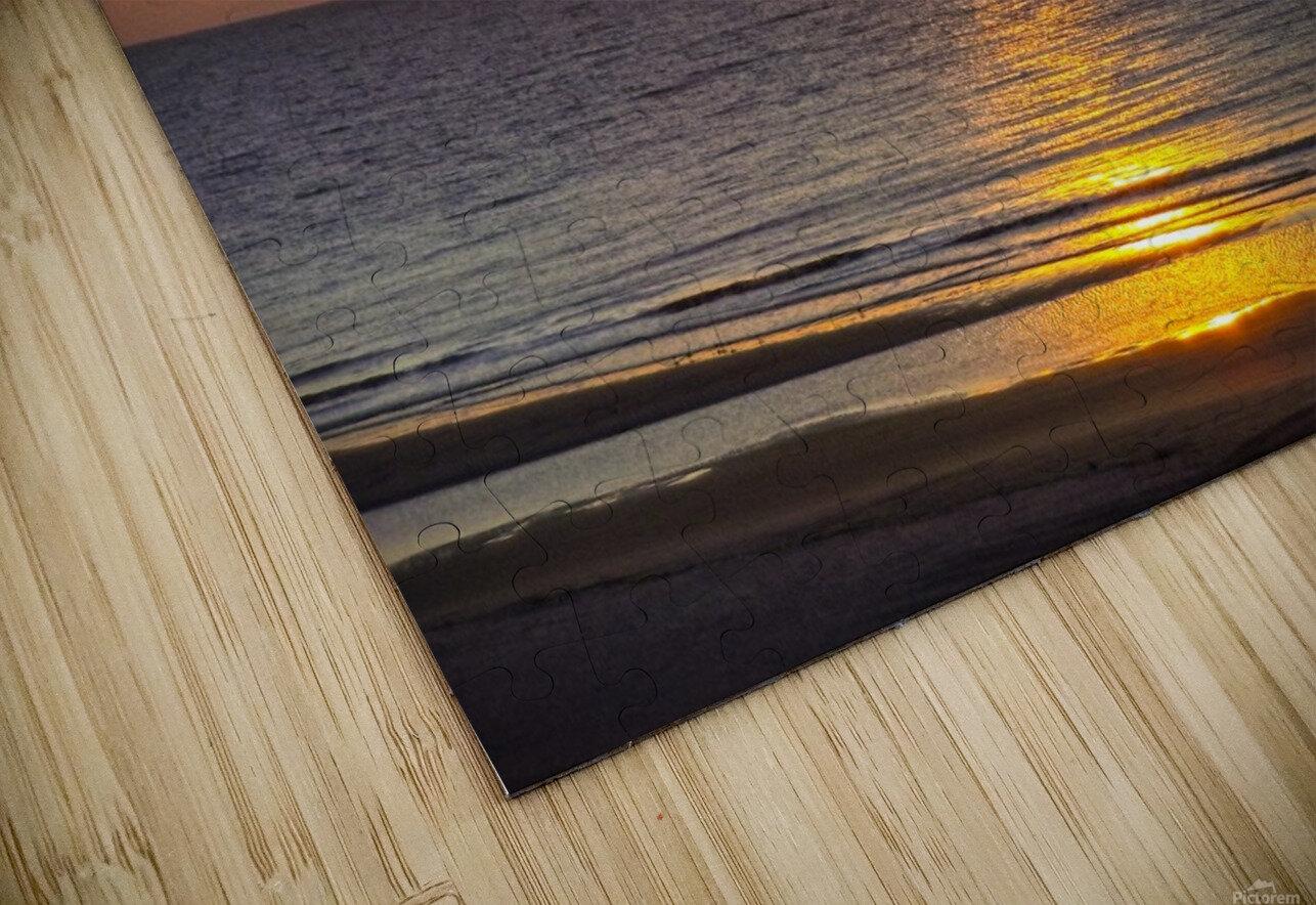 Blue Morning Sunrise HD Sublimation Metal print