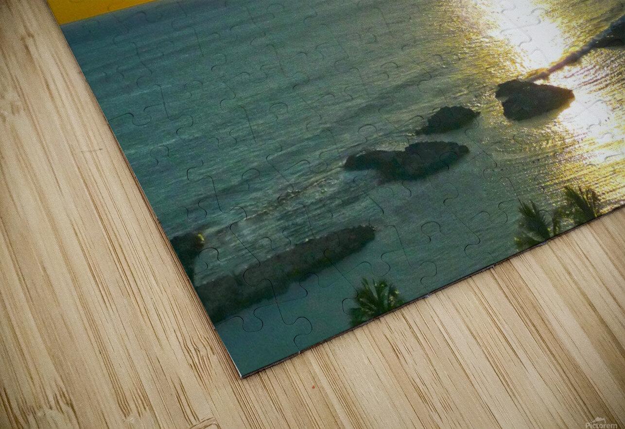 Island Dreamin HD Sublimation Metal print