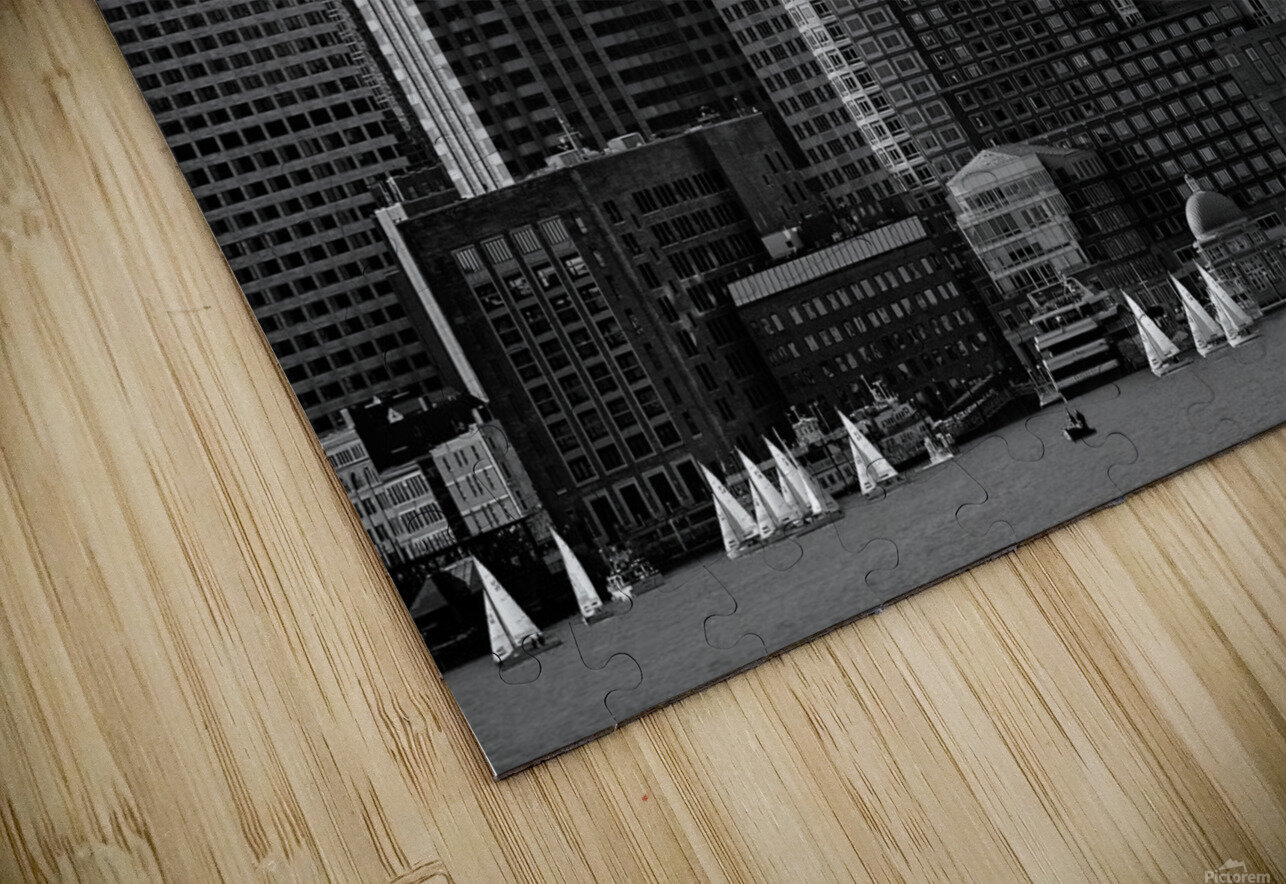 Towers HD Sublimation Metal print