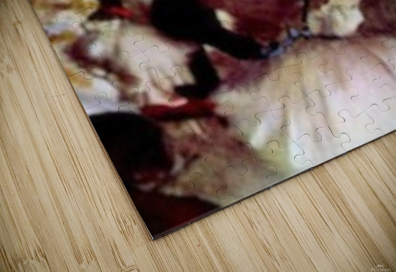 Stage trial by Degas HD Sublimation Metal print