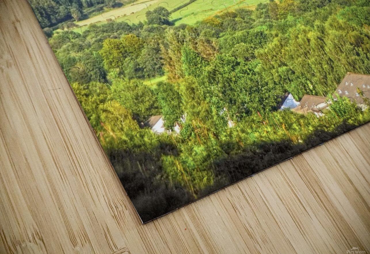 Beautiful Wales HD Sublimation Metal print