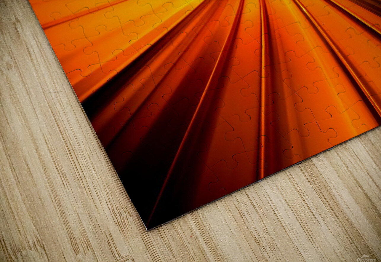 Wormhole HD Sublimation Metal print