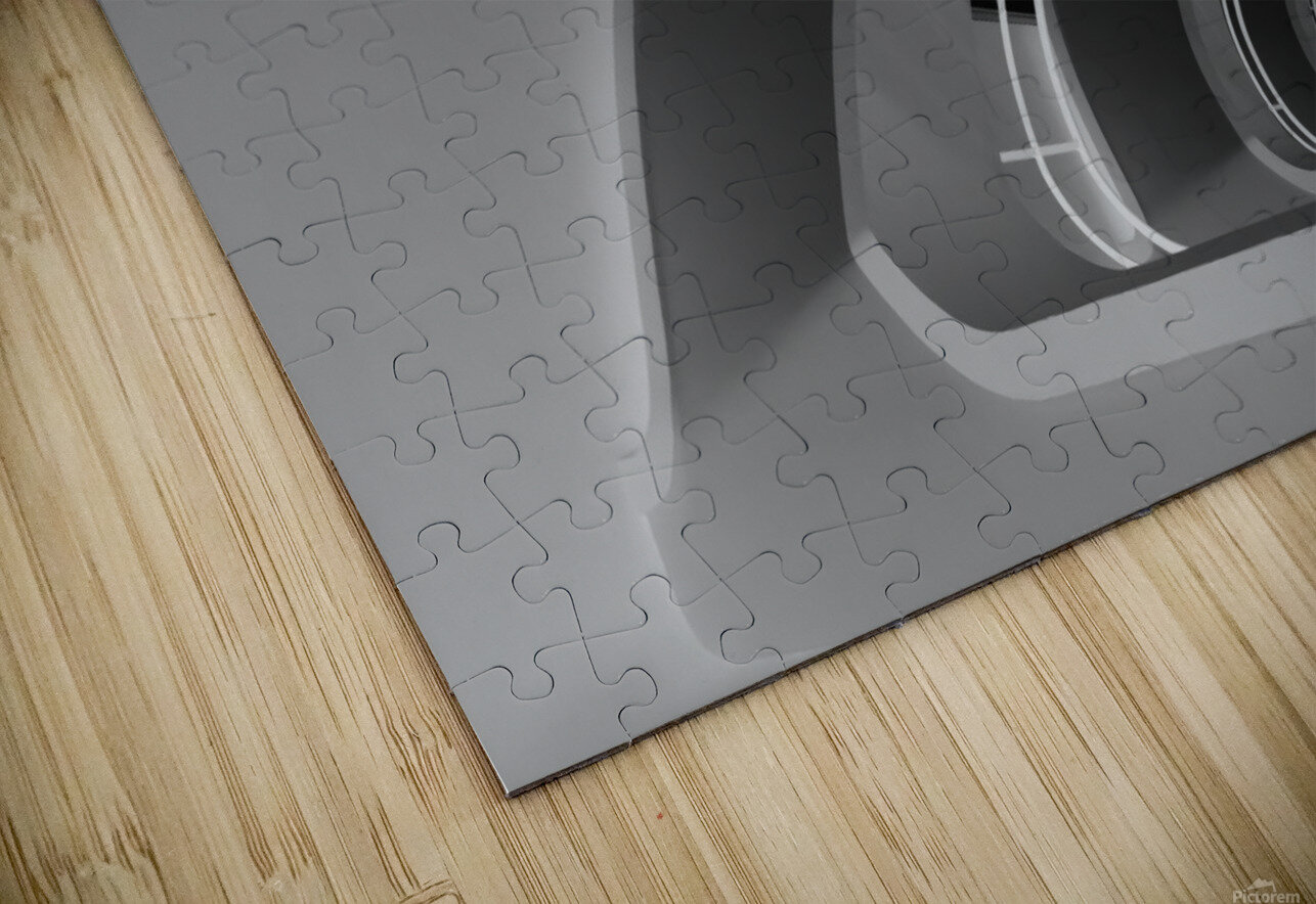 Antwerp-Stairs by jan niezen  HD Sublimation Metal print