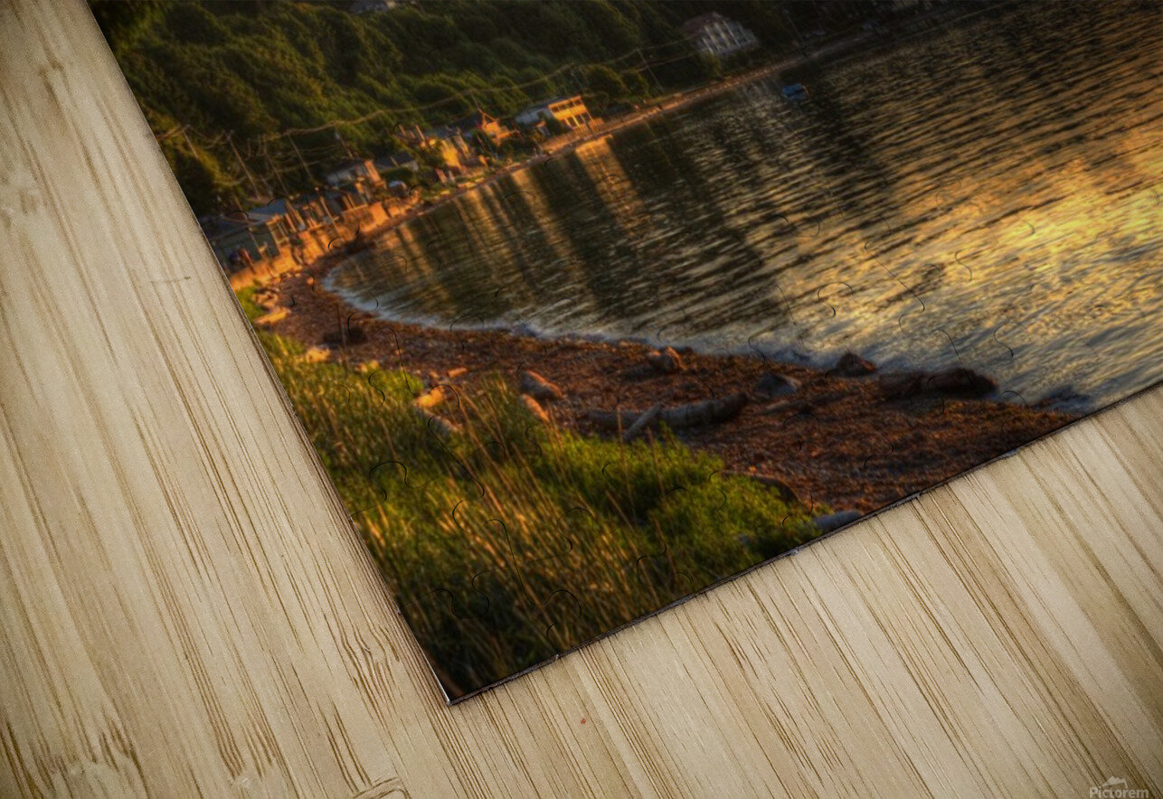Before Sunset by Randy Hall HD Sublimation Metal print