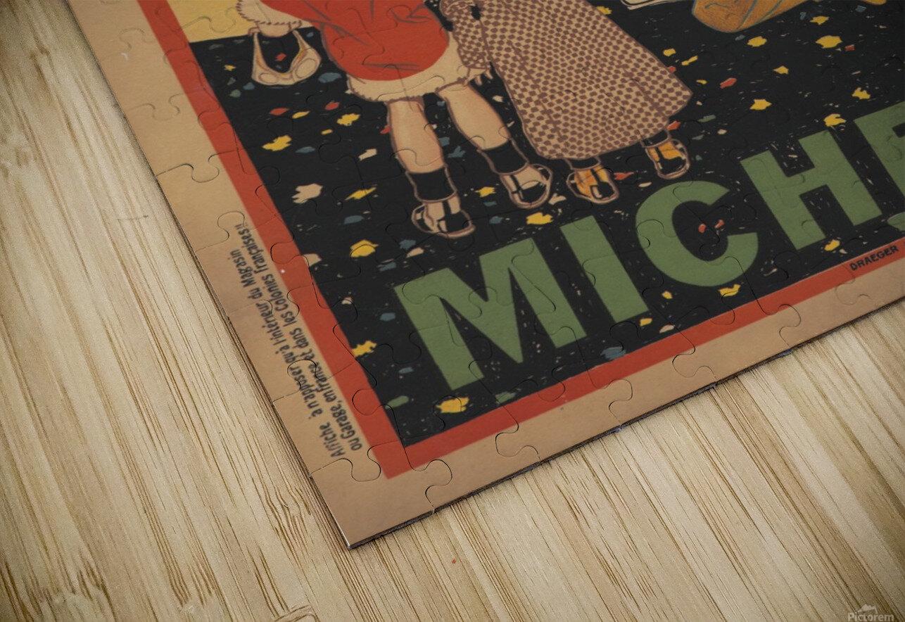 Michelin Pneu HD Sublimation Metal print