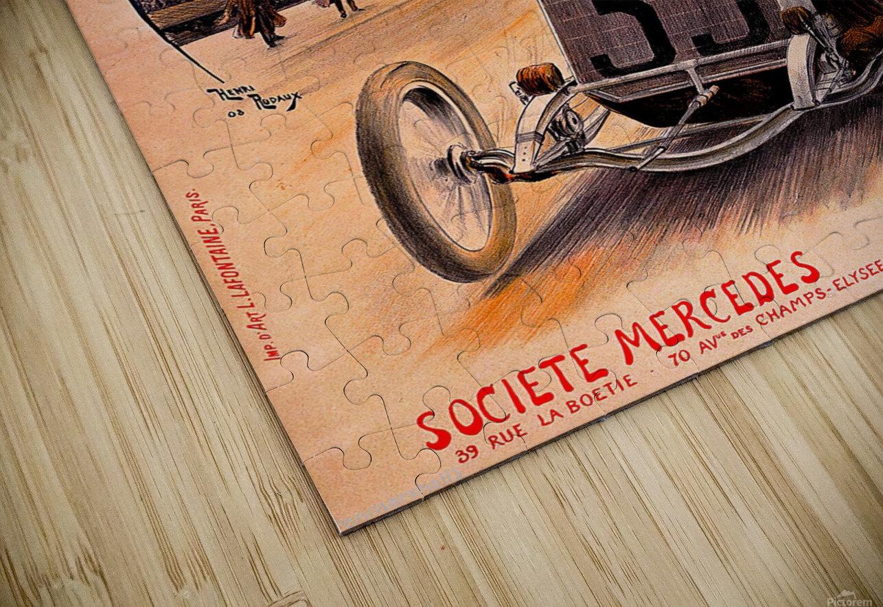 Mercedes Grand Prix HD Sublimation Metal print