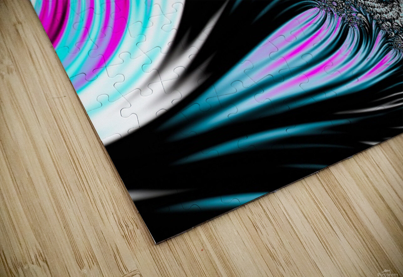 Abstract background waves. HD Sublimation Metal print
