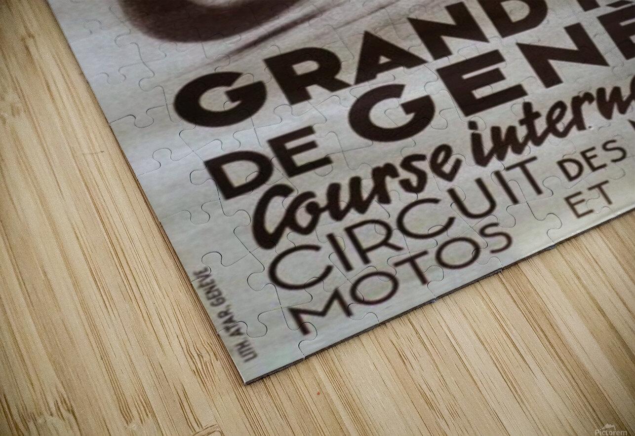 Grand prix de Geneve HD Sublimation Metal print