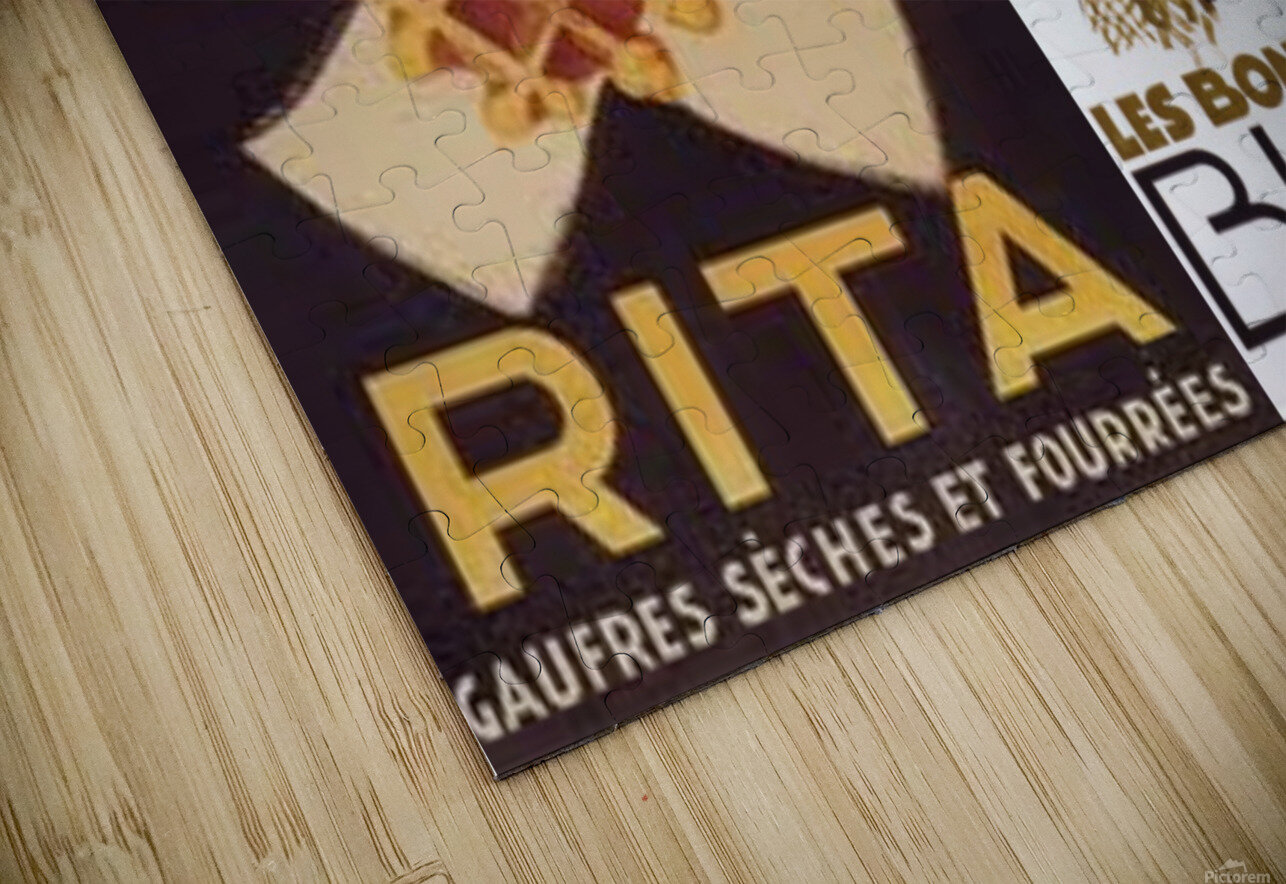 Rita Buvat HD Sublimation Metal print