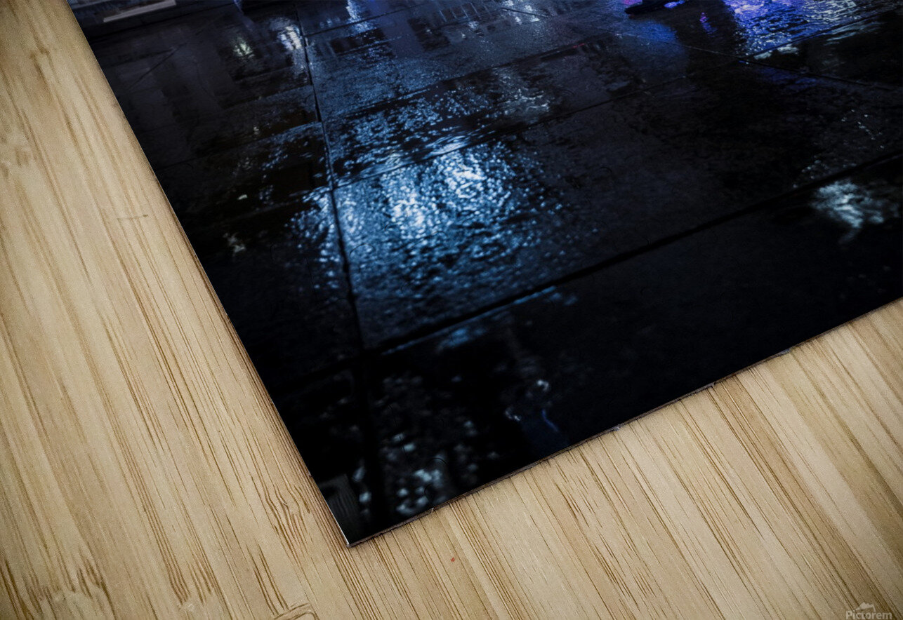 Never Tomorrow HD Sublimation Metal print