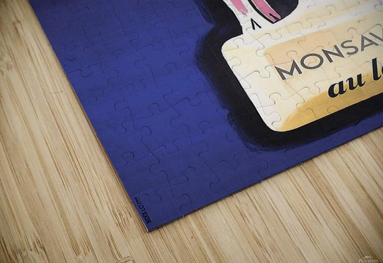 Monsavon au lait HD Sublimation Metal print