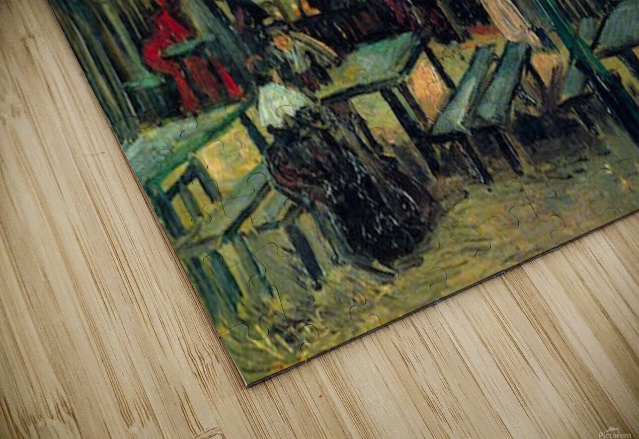 Terrace of a Cafe by Van Gogh HD Sublimation Metal print