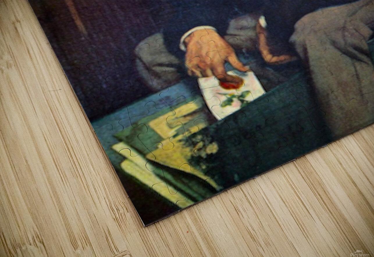 The Amateur by Degas HD Sublimation Metal print