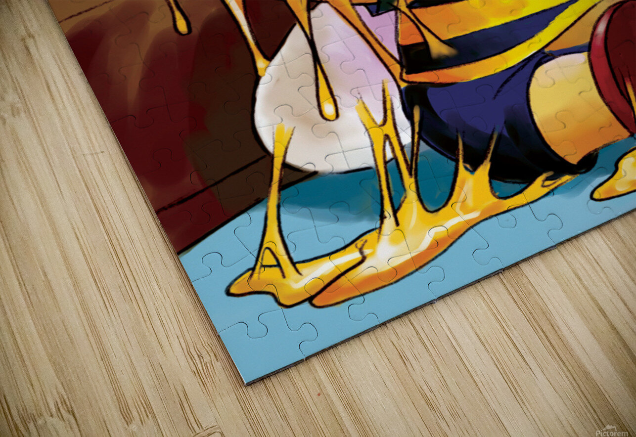 Sticky Mess - Too Much Honey Buster Bee HD Sublimation Metal print