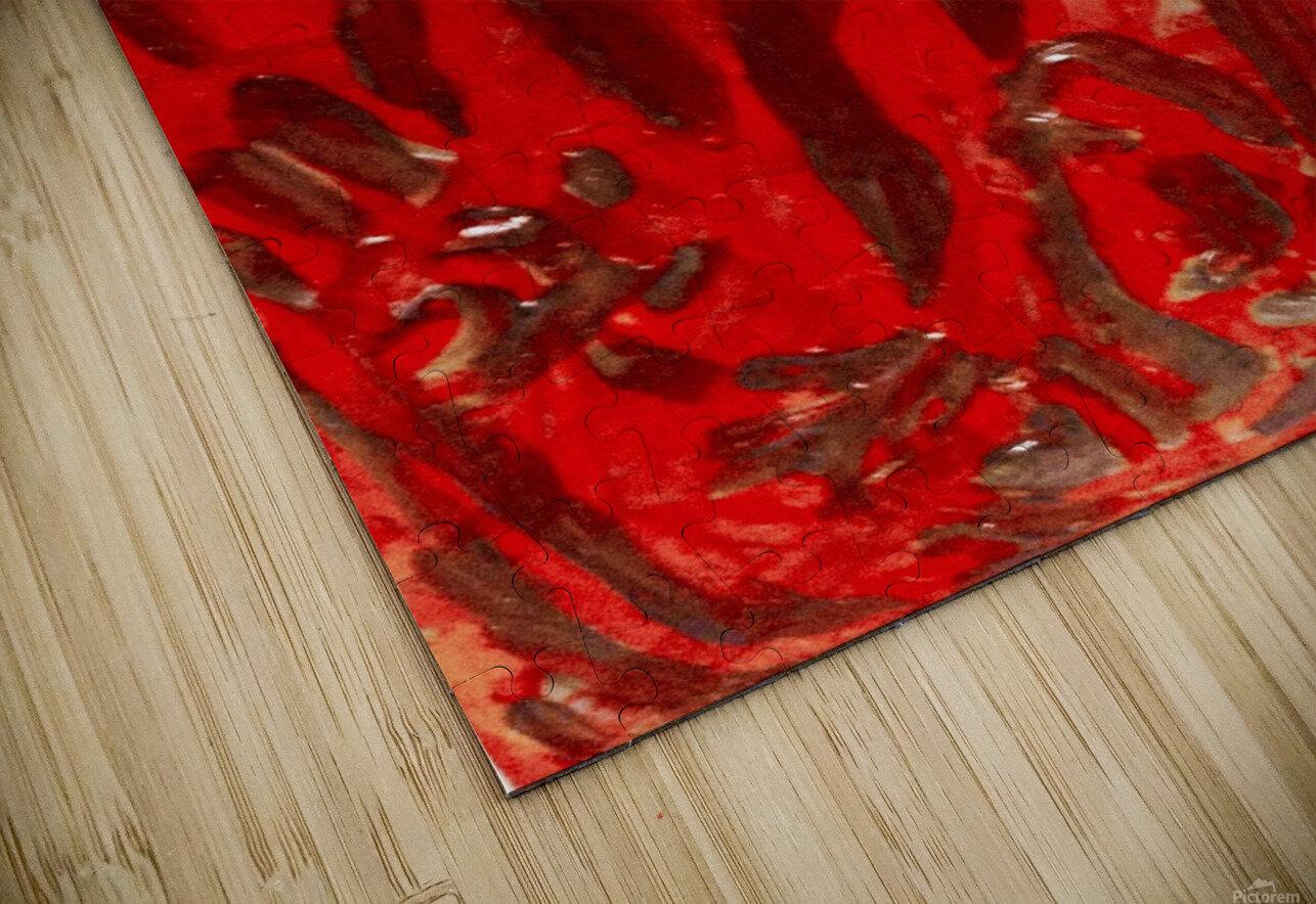 Covid strain.5137 HD Sublimation Metal print