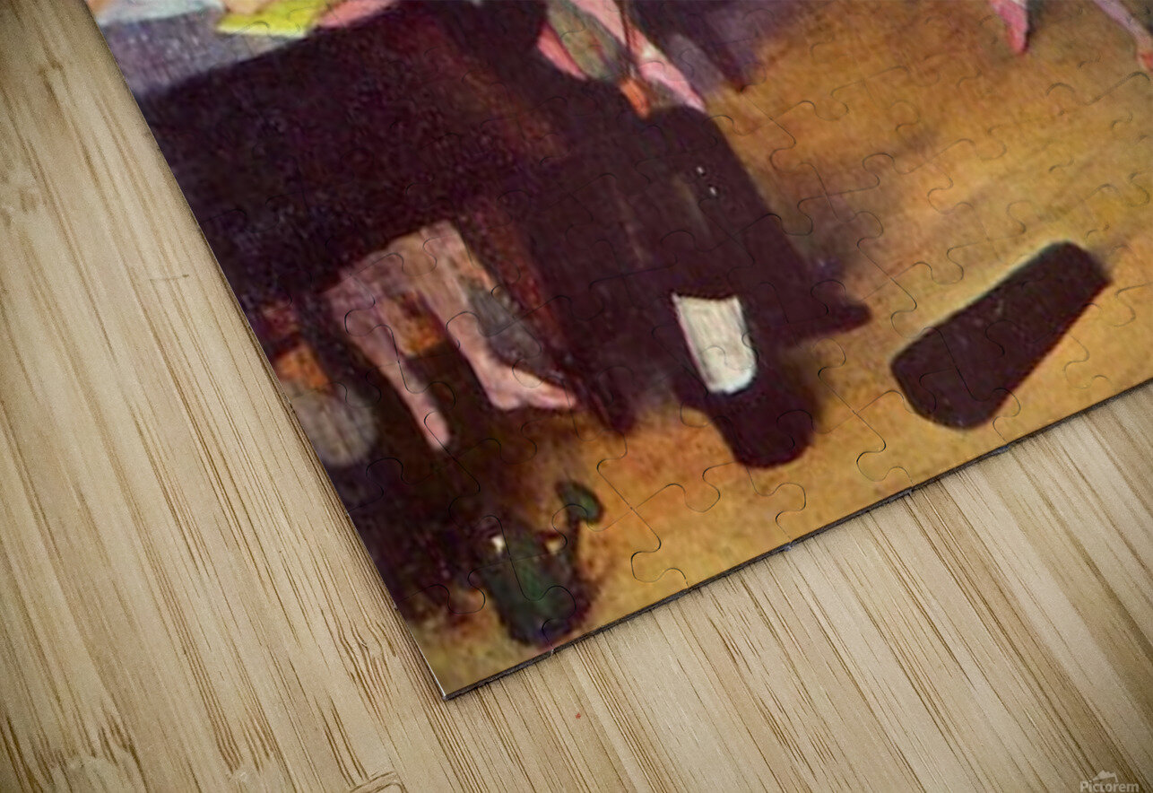 The dance hall by Degas HD Sublimation Metal print