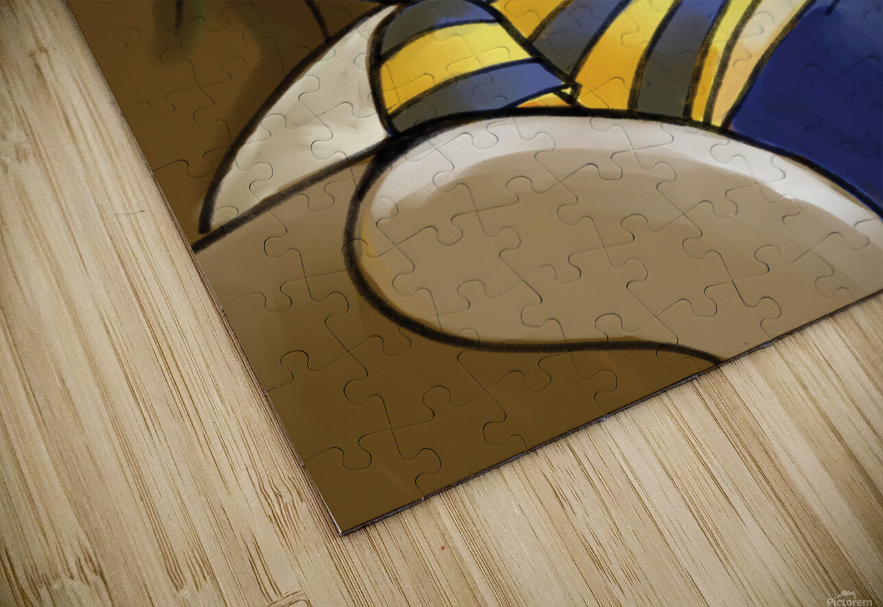 Exhausted - Thoughts on a Long Day - Buster Bee HD Sublimation Metal print