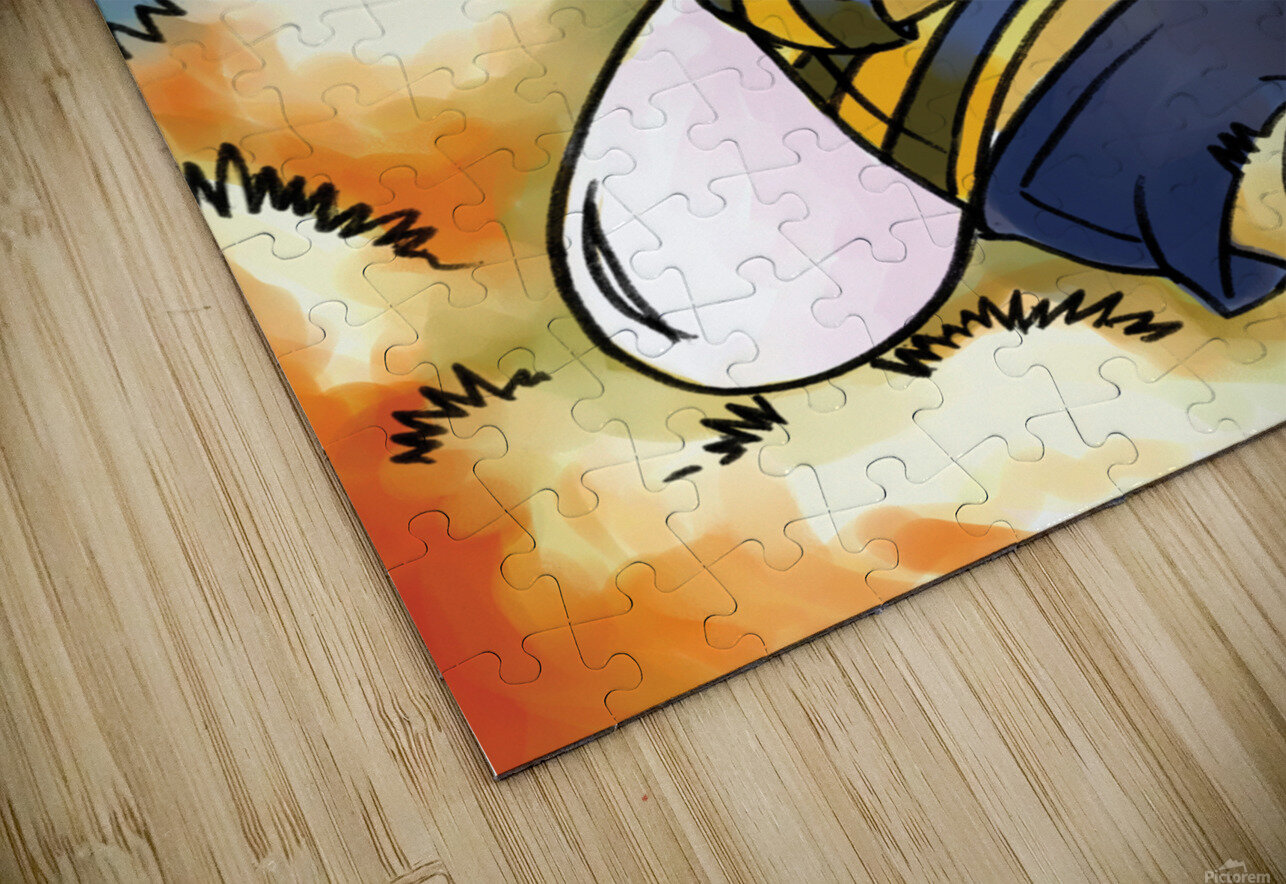 Its Country Buster HD Sublimation Metal print