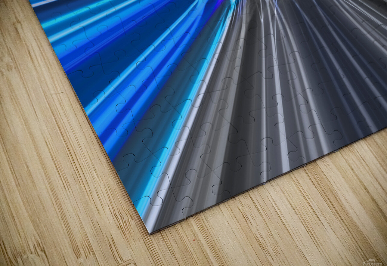 WARP SPEED HD Sublimation Metal print