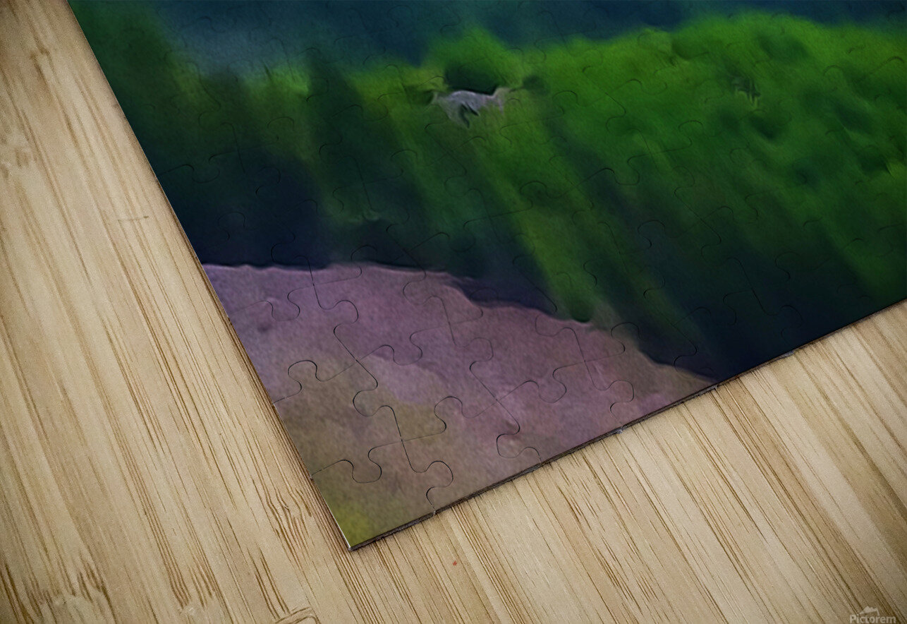 Mt. Ranier HD Sublimation Metal print
