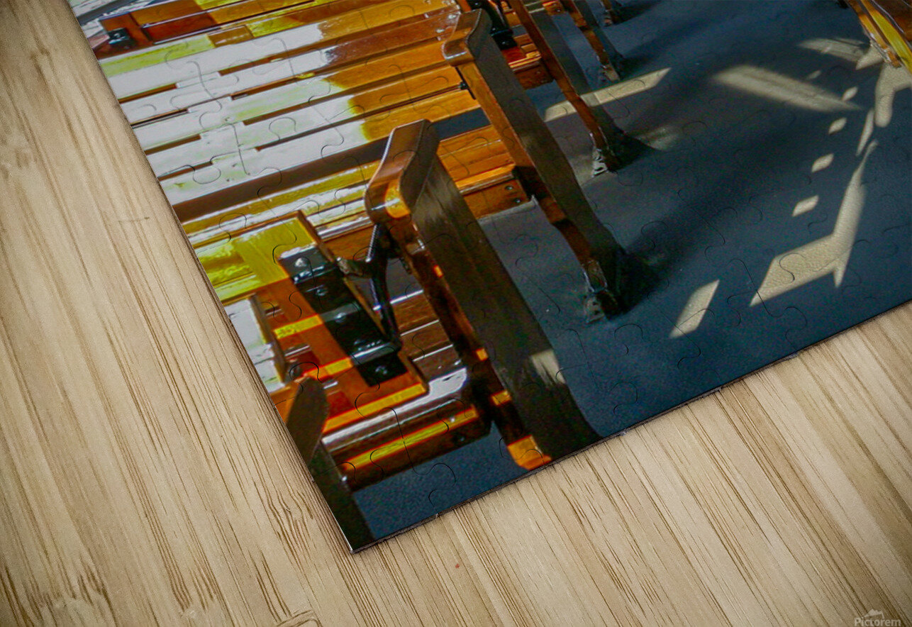 The Cheap Seats. HD Sublimation Metal print