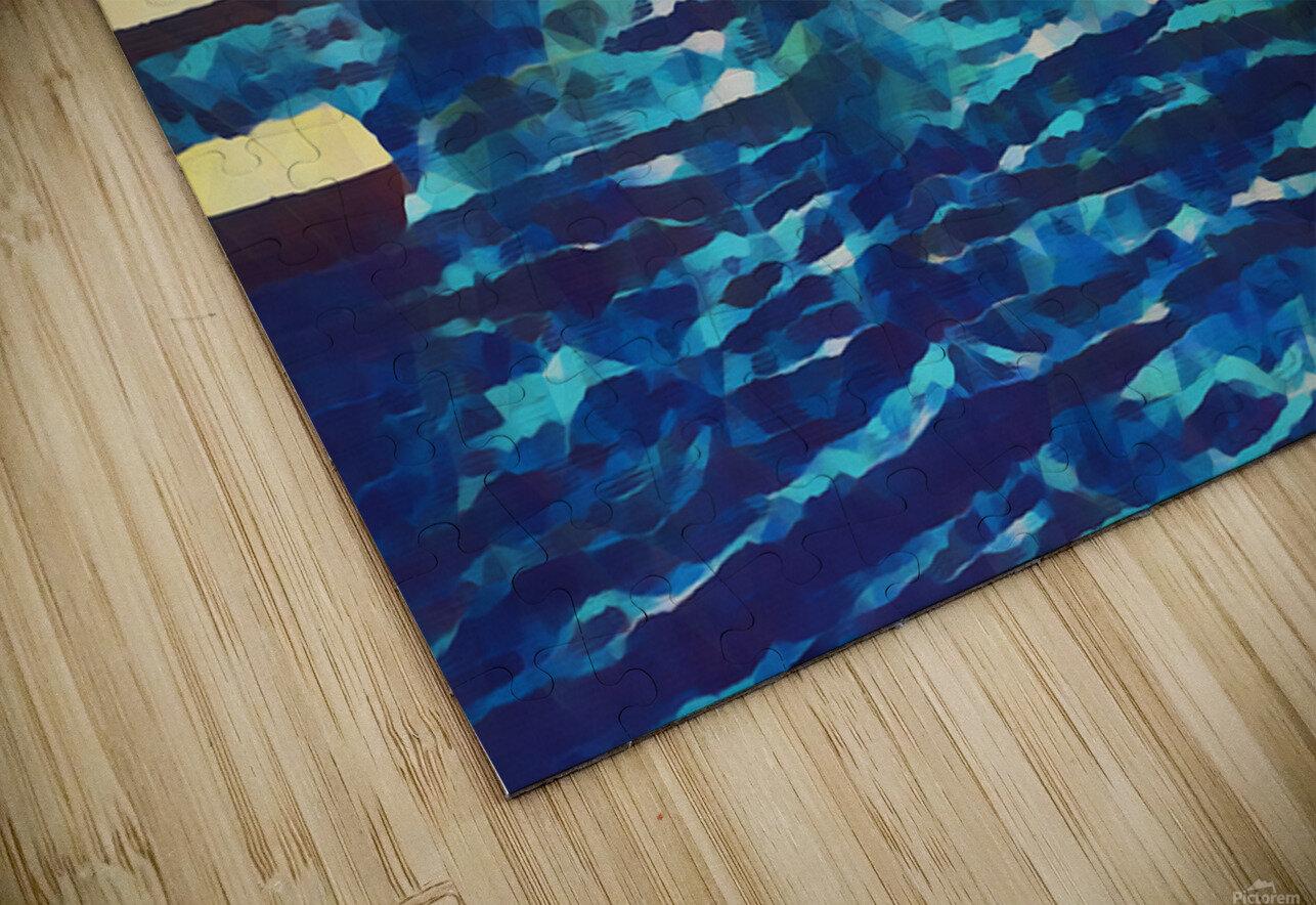 sail boats art HD Sublimation Metal print