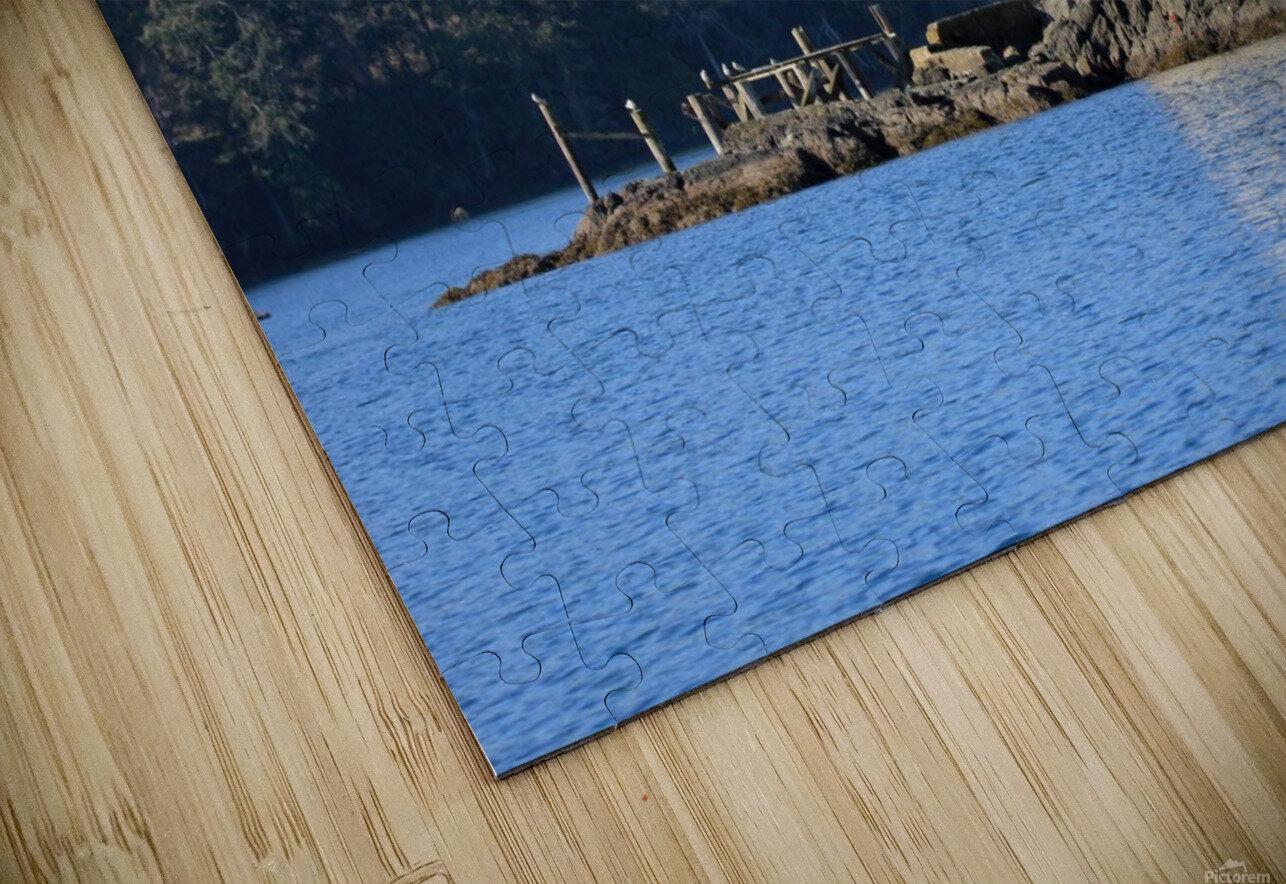 Cole Island (Victoria, BC) HD Sublimation Metal print