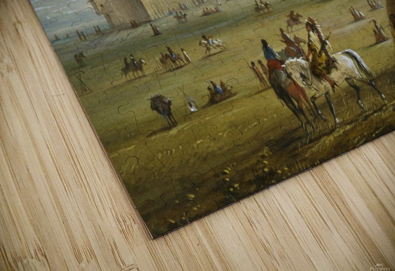 Fort Laramie HD Sublimation Metal print
