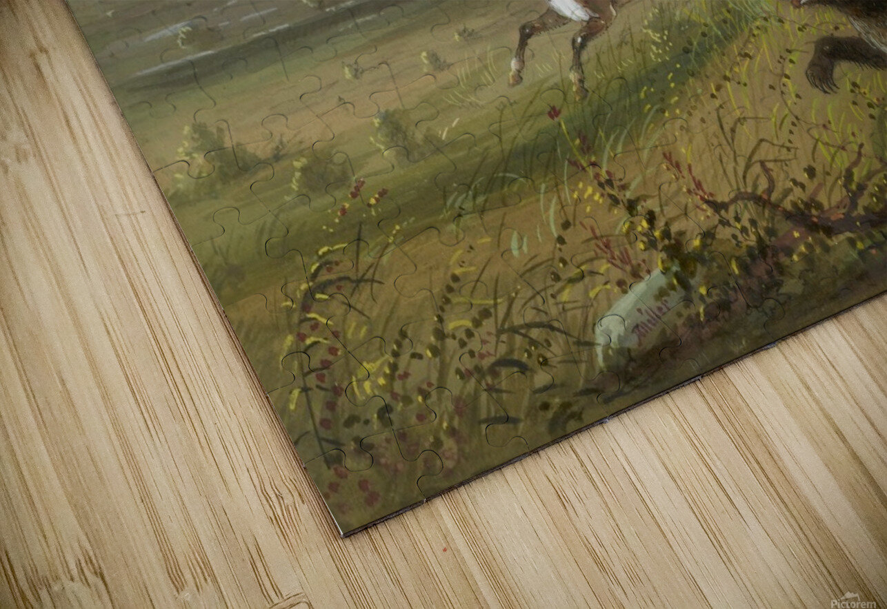 The Grizzly Bear HD Sublimation Metal print