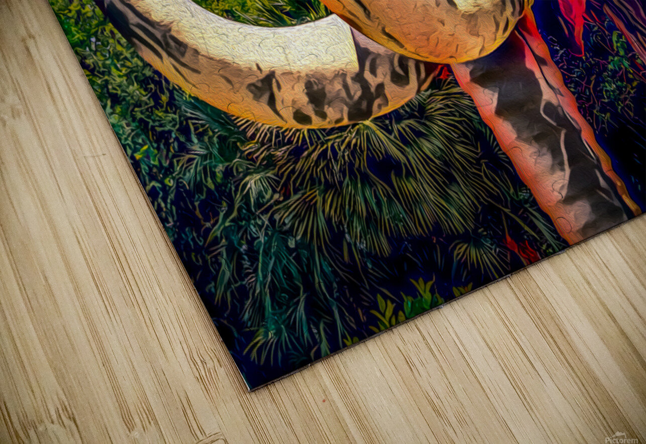 Wooly Mamoth HD Sublimation Metal print