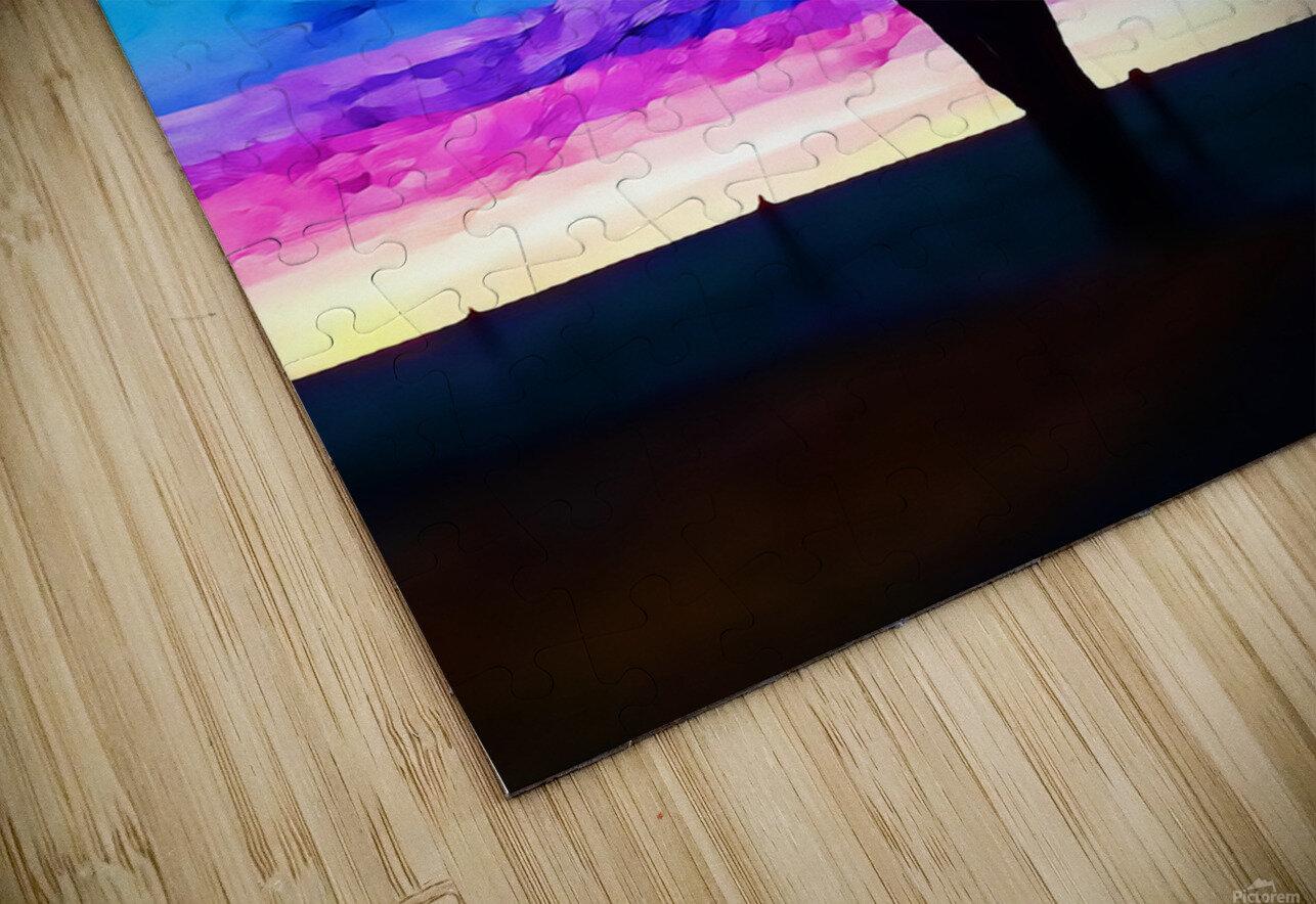 stillness HD Sublimation Metal print