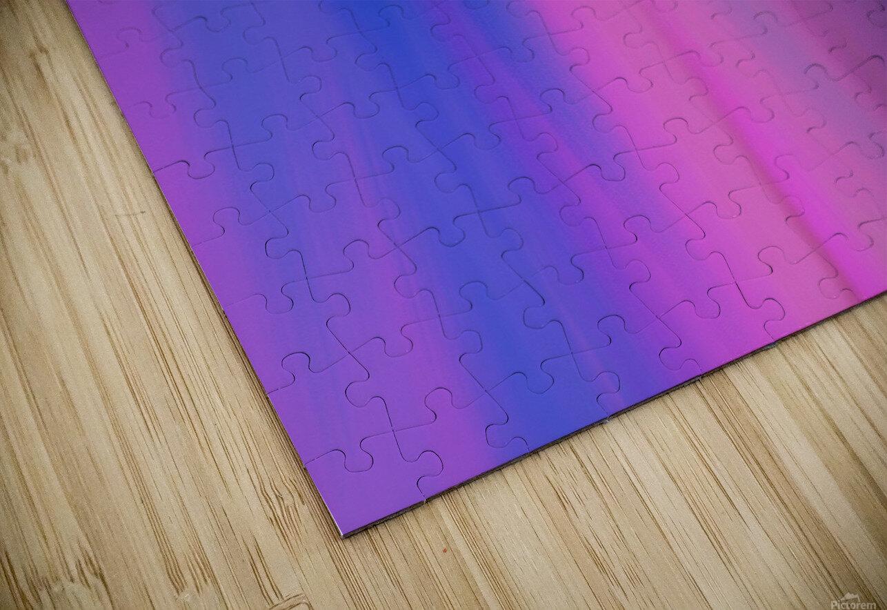 Purple Patterns HD Sublimation Metal print