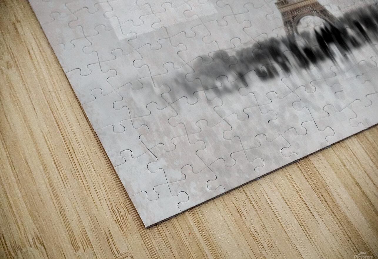 Digital-Art Eiffel Tower II HD Sublimation Metal print