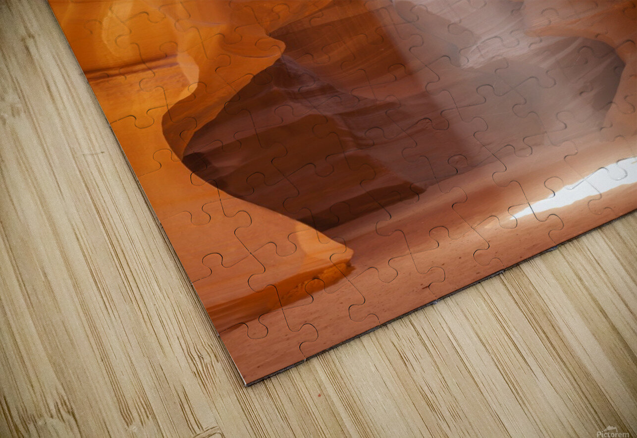 Beautiful Antelope Canyon HD Sublimation Metal print