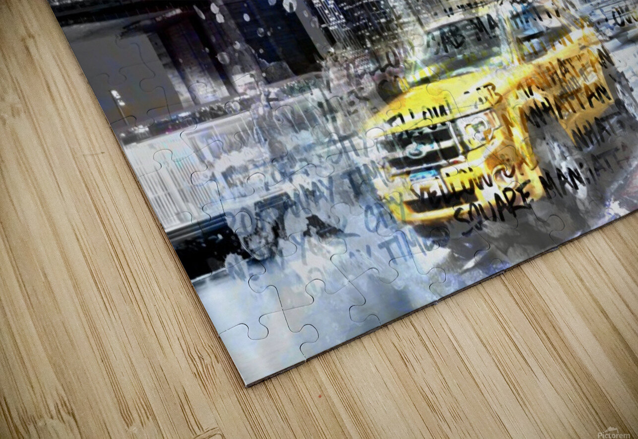 City-Art NYC Collage HD Sublimation Metal print
