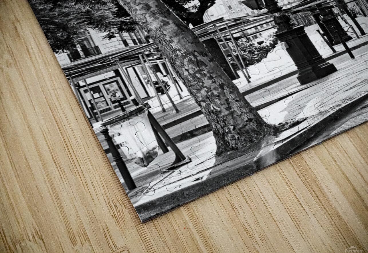 Richard Lenoir boulevard Impression de sublimation métal HD