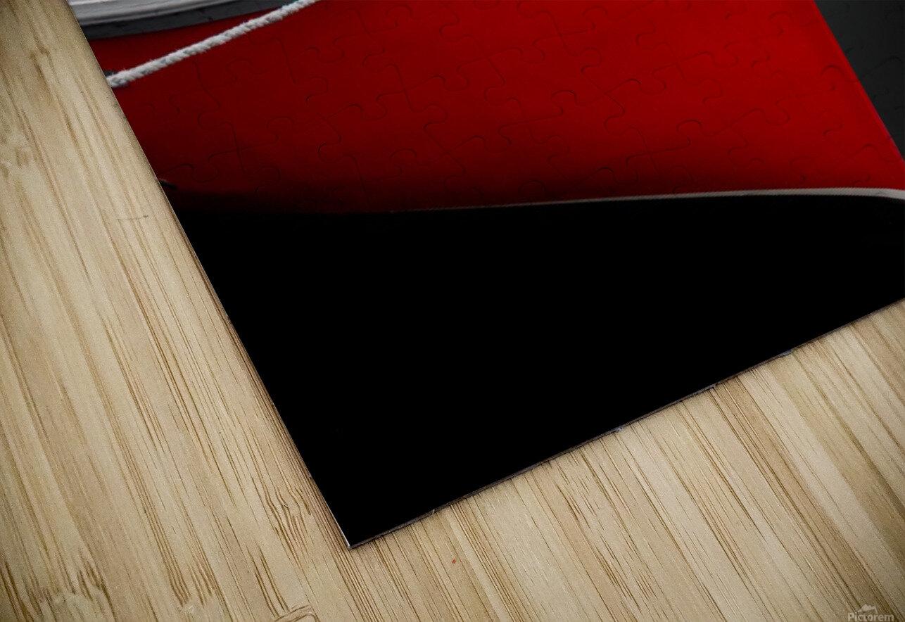 Crimson HD Sublimation Metal print