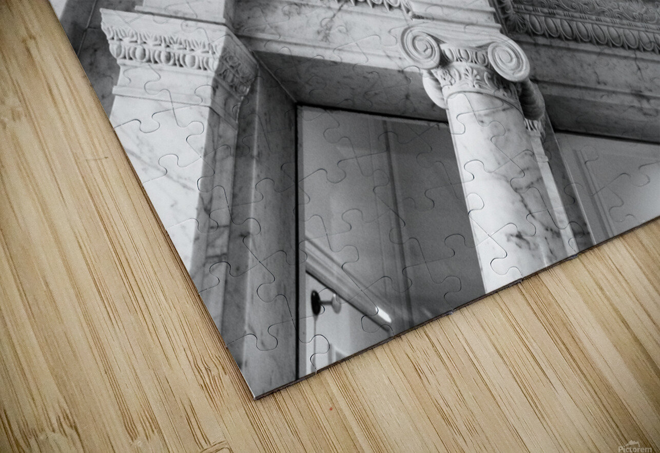 Decorating the City HD Sublimation Metal print